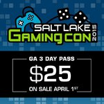 Salt Lake Gaming Con 2015
