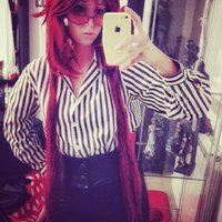 Office Outfit - istant Grell cosplay Thumbnail
