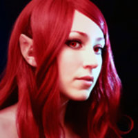 Red Fae Cosplay