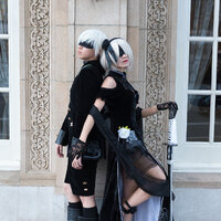 Formal 2B and 9S - Fanime 2019 Thumbnail