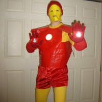Crappy Duct-Tape Iron Man Thumbnail