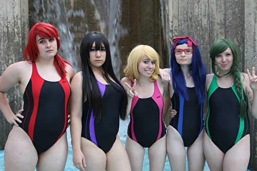 leotard lesbians Swimsuit