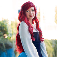 Ariel's Blue Town Dress Thumbnail