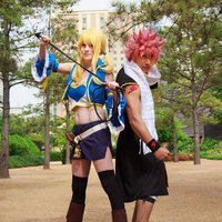 Natsu and Lucy Thumbnail