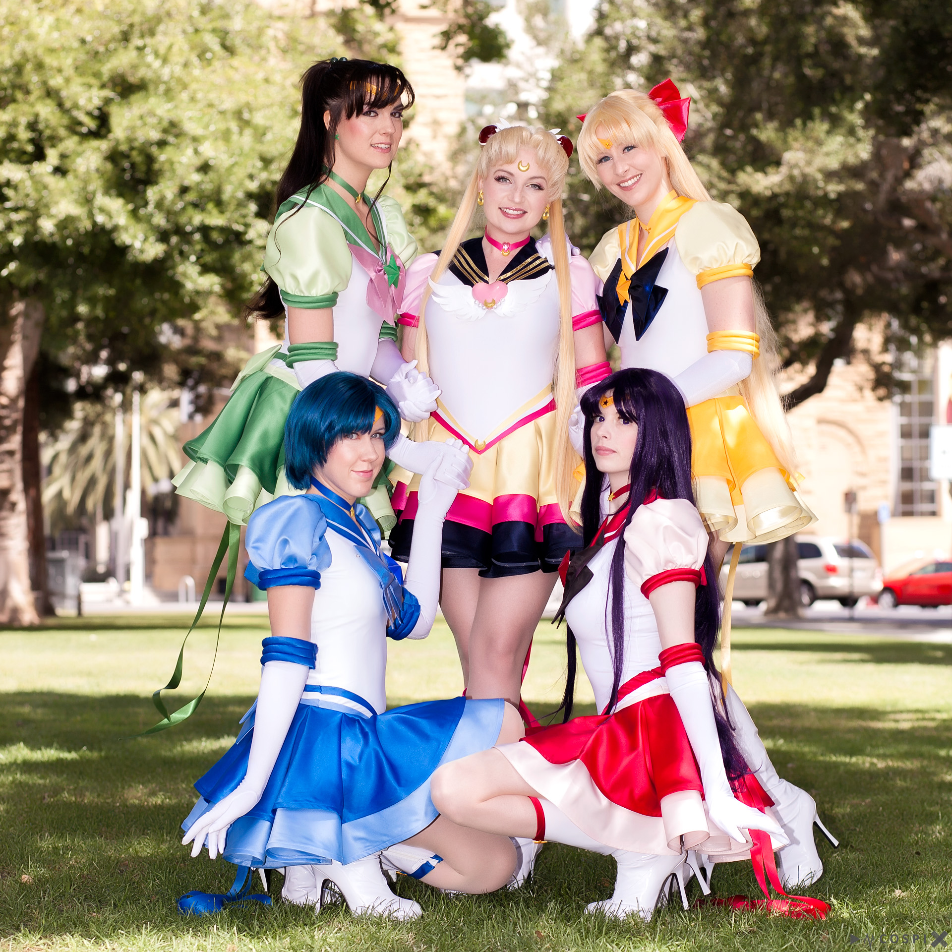 Cospix.net photo featuring DarkainMX, Sparkle Pipsi, NyuNyu Cosplay, and DaydreamerNessa