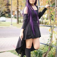 Rize Kamishiro (black dress)