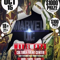 Marvel vs DC Model Expo 2016