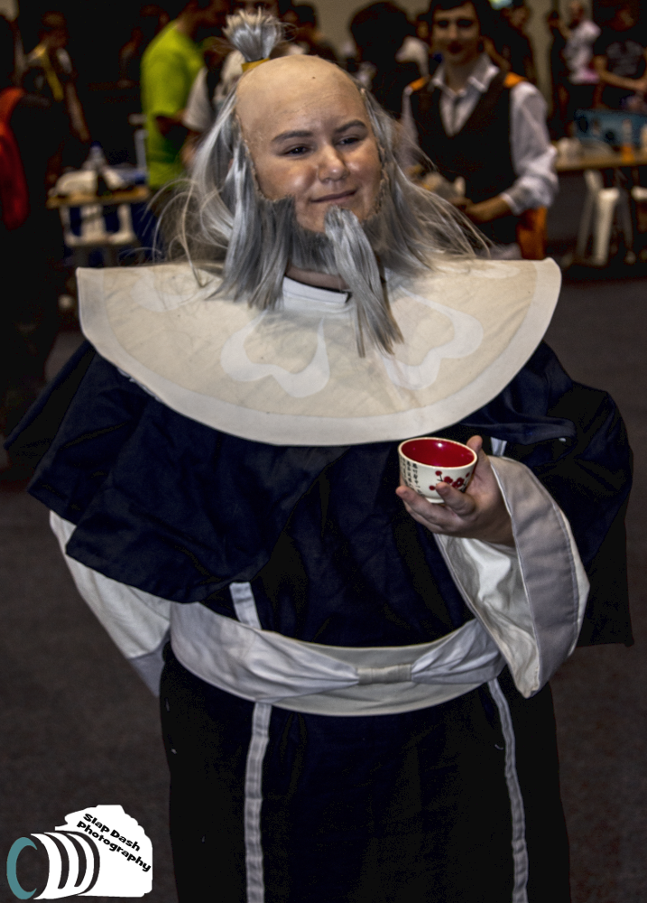 Uncle Iroh White Lotus By Arcade Nemesis Cospix